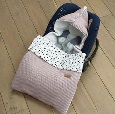 Maxi cosi zak - Oud roze met triangel stof