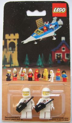 Classic Space LEGO MISB 0013 Samsonite Style Circa 1978. JanK has many vintage LEGO gems.