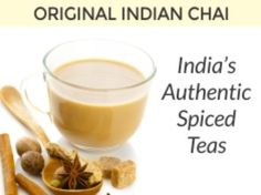 #IndianChai is very famous #Tea around the world. IT is also called as #MasalaChai which is made from fresh and aromatic spices like Cardamom, Cinnamon, Long Pepper, Black Pepper, Ginger etc. with milk.  #chaitea