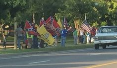 Many Rallies supporting the Confederate flag! KK