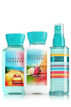 Endless Weekend The All New Daily Trio To Go - Signature Collection - Bath & Body Works