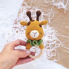 Flamingo pattern Crochet rattle pattern Amigurumi baby rattle pattern New baby toy PDF pattern Giraffe Crochet, Crochet Lion, Crochet Bunny Pattern, Giraffe Pattern, Fox Pattern, Crochet Toys Patterns, Stuffed Toys Patterns, Knitting Patterns, Crochet Turtle