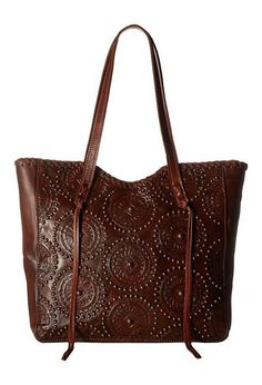 American West Kachina Spirit Large Zip Top Tote (Chestnut Brown/Tobacco) Tote Handbags - American West, Kachina Spirit Large Zip Top Tote, 4085915, Bags and Luggage Handbag Tote, Tote, Handbag, Bags and Luggage, Gift, - Fashion Ideas To Inspire