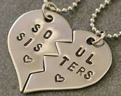 Soul sister bff necklaces