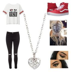 """Untitled #80"" by forever30-1 on Polyvore featuring Uniqlo, Vans, Glamorous and Finn"