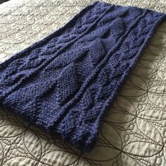 Ravelry: Northfarthing Cowl pattern by Persephone's Tree, free 12 ply