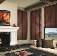 Un toque de naturaleza a tu hogar con persianas en madera.