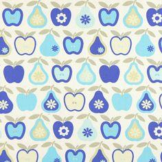 Cotton Apple Pear 5 - blauw - Andere kinderstoffen - Decoratiestoffen fruit & vruchten - stoffen.net http://www.stoffen.net/52-54040-915_cotton-apple-pear-5.html?$category=bgq3ydpfzm1