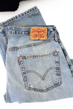 Vintage Levi's 501 Jeans #style #fashion #denim