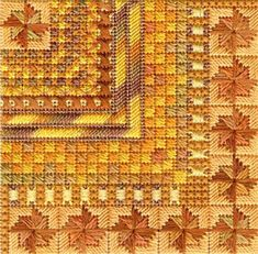 click here to view larger image of Color Delights - Pumpkin (counted canvas chart)