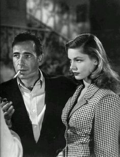 Humphrey Bogart and Lauren Bacall!