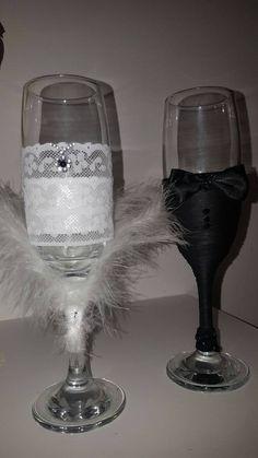 Guarda questo articolo nel mio negozio Etsy https://www.etsy.com/it/listing/467626118/chic-wedding-flute