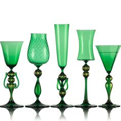 Honey Goblets - Vetro Vero: hand blown glass design