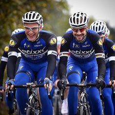 Tom Boonen and Marcel Kittel workinprogress for season 2016  by @tdwsport