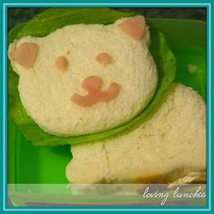 Look at the lettuce around the next! soo cute #bento #lunch #funfood great for picky eaters