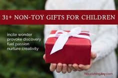31+ Non-Toy Gift Ideas for Children