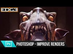 Compositing 3D render passes in Photoshop - YouTube