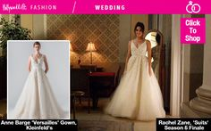 Rachel Zane looked absolutely gorgeous on the season 5 finale of 'Suits' on March 3. The actress donned a gorgeous Anne barge wedding dress and we are obsessed with it. If you love Rachel's dress also, you can SHOP her exact one right here!