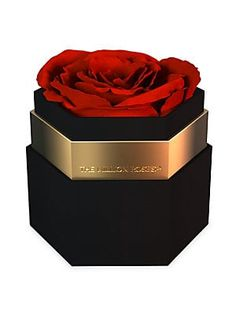 The Million Roses One In A Million Collection Hexagon Black Box Flower Box Gift, Flower Boxes, Valentine Flower Arrangements, Million Roses, Engagement Box, Rosen Box, Hexagon Box, Wood Table Design, Gifts For Your Girlfriend