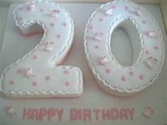 20th Birthday Cake Would Love With High Heels All On Top