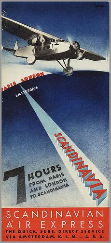 Source: 150 years of advertising in the Netherlands Vintage Travel Posters, Vintage Airline, Poster Vintage, Lost Images, Art Deco Posters, Vintage Advertisements, Vintage Ads, Vintage Photos, Advertising Poster