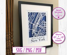 New York City Map Paper Cut Digital Download by JumbleinkDesign on Etsy New York City Map, City Maps, Handmade Items, Handmade Gifts, Paper Cutting, Digital, Frame, Etsy, Kid Craft Gifts