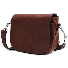 New Trending Shoulder Bags: Floto Womens Roma Saddle Bag in Brown Italian Calfskin Leather - handbag shoulder bag. Floto Women's Roma Saddle Bag in Brown Italian Calfskin Leather – handbag shoulder bag   Special Offer: $135.20      433 Reviews Floto Roma Saddle Bag is crafted from full grain calfskin leather and has a matte finish. This leather was painted and tanned in Tuscany by hand so...