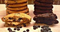 Nηστήσιμα cookies βανίλια η σοκολάτα,μαλακά εύκολα και νόστιμα!