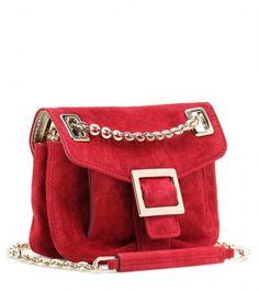 9787ce08dda8 roger-vivier-gold-micro-metro-suede-shoulder-bag-