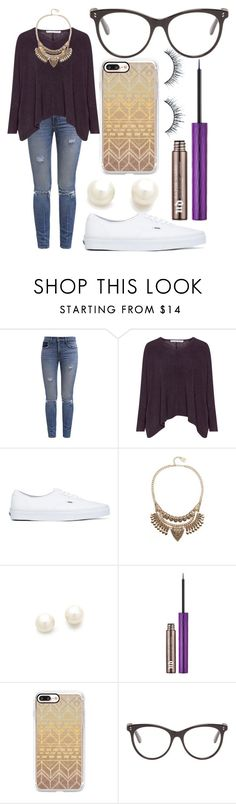 """Untitled #214"" by meggypoo03 ❤ liked on Polyvore featuring Levi's, Vans, Adia Kibur, Kenneth Jay Lane, Urban Decay, Casetify and STELLA McCARTNEY"