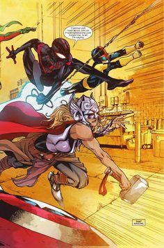 Preview: Ms. Marvel #1, Story: G. Willow Wilson Art: Takeshi Miyazawa &…