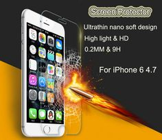 Cheap protector sheet, Buy Quality film glitter directly from China film display Suppliers: Nano Soft Explosion Proof Screen Protector Film for iPhone 6 plusTempered Glass High Transparent Screen Protector Iphone 6 Screen Protector, Transparent Screen, Cheap Phones, Tempered Glass Screen Protector, Packaging, Retail, China, Cover, Wrapping