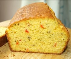 Kukoricakenyér Food Videos, Cornbread, Bread Recipes, Banana Bread, Eat, Pizza, Drink, Amazing, Millet Bread