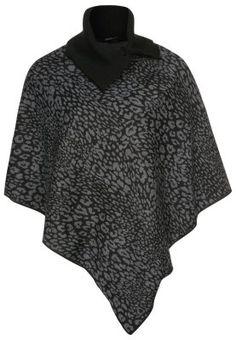 Cape - nero/grigio