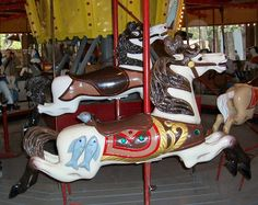 c.1920 C. W. Parker Carousel at W. MN Steam Threshers Reunion Rollag, MN