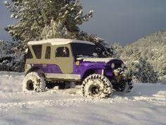 purple cj-8 scrambler
