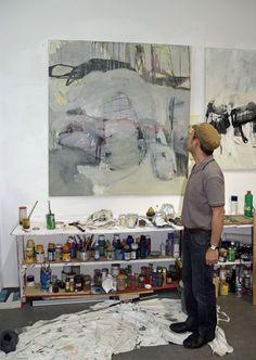 Josias Scharf in studio