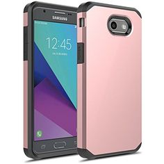 J7 V Case, Galaxy Prime Sky Pro Perx Halo Dual Layer Shockproof Hard Cover Skin #Doesnotapply