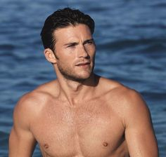 Celebrate Man Crush Monday with a Look at Scott Eastwood's Davidoff Cool Water Campaign  #InStyle