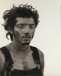 Richard Avedon,Roberto Lopez, Oil Field Worker, Lyons, Texas, 1980