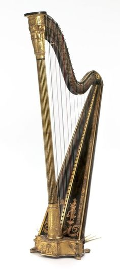 pretty harp from Greece Ancient Rome, Ancient Greece, Greece Fashion, Gods And Goddesses, Harp, Aphrodite, Pilgrim, Music Stuff, Fashion History