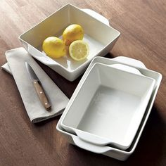Basic Oven-To-Table Cookware | west elm