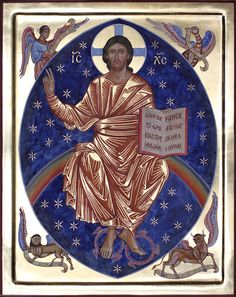 Pantocrator - Aidan Hart Sacred Icons Religious Images, Religious Icons, Religious Art, Christ Pantocrator, Religion, Byzantine Icons, Jesus Pictures, Jesus Is Lord, Orthodox Icons