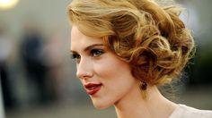 Potential bridesmaid hair (Scarlett Johansson, 2012 Hairstyles For Medium Length Hair Style Cuts) Vintage Updo, Vintage Hairstyles, Pretty Hairstyles, Wedding Hairstyles, Glam Hairstyles, Hairstyle Photos, Bridesmaid Hairstyles, Vintage Soft, Spring Hairstyles