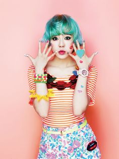 SNSD's Sunny for Casio Baby-G. There's something about this I love.