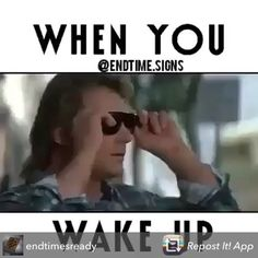 """Repost from @endtimesready using @RepostRegramApp - """"This is what happens..when you wake up. It will change your perspective on many topics. This scene from """"They Live"""" is blatant truth and shows what type of society we live in..the truth today however is not hidden as much as it was in the past years, now people actually hide from the truth! If only these sun glasses were actually real though..#TheyLive ___ #Wakeup #Illuminati #killuminati #hollywood #ISIS #NWO #NewWorldOrder #MartialLaw…"""