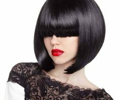 The Different Types of Bobs : Bob haircuts are kinda amazing.but do you know the difference between a graduated bob, a-line haircut, and the other types of bob haircuts? Asymmetrical Bob Haircuts, Choppy Bob Hairstyles, Short Bob Haircuts, Hairstyles With Bangs, Woman Hairstyles, Inverted Bob, Blonde Bob Haircut, Bob Haircut With Bangs, Short Hair With Bangs