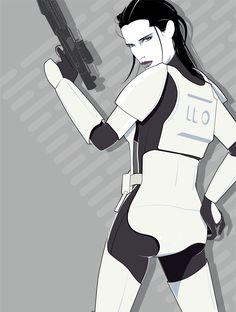 Star Wars Female Stormtrooper