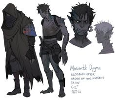 drow blood hunter (order of the mutant) Character Creation, Fantasy Character Design, Character Drawing, Character Design Inspiration, Character Concept, Dark Fantasy Art, Fantasy Artwork, Dnd Characters, Fantasy Characters