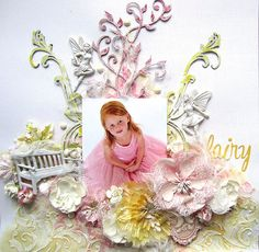 Fairy- Layout for Shimmerz - Scrapbook.com